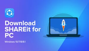 SHAREit for windows Download