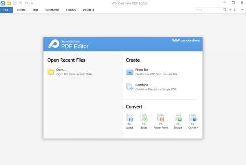 Wondershare PDF Editor download