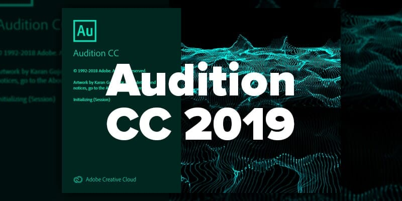 Adobe Audition CC 2019 download